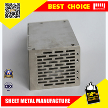 15 years experience in custom metal sheet fabrication