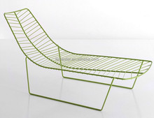 Alper leaf chaise lounge chair daybed