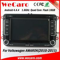 HD Quad Core 2 din car gps navigation for volkswagen amarok 2010 2011 Bluetooth DVD Video map google phonebook
