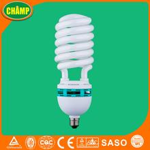 Spiral heat resistant cfl light bulbs