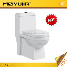 Hot!!!China dual flush siphonic one piece toilet 8239