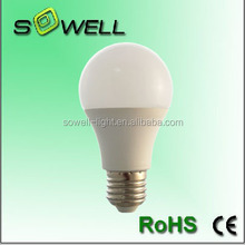 Promotion!!! USD1.06!!! 7W E27 A60 indoor LED lighting bulbs