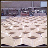 Ivory beige travertine Special Design for Hotel Wall