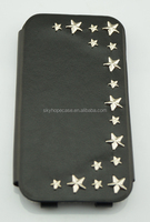 Hot Sell metal star stud Cell phone Case for S5/S6 for 2015 new fashion styles