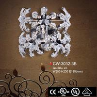 iron decoration design wall lamp zhong shan