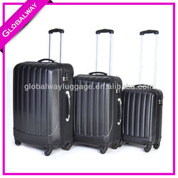Women Hard Plastic ABS Cabin Promotion Size Polo Luggage