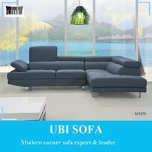 Italian luxury fabric corner sofa for living room MY079