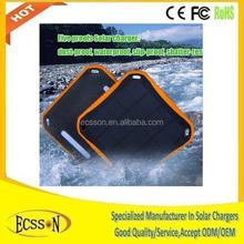 OEM/ODM 5600mAh waterproof solar charger, waterproof solar charger for mobile phone, solar charger waterproof