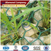 PVC coated Galvanized hexagonal woven wire mesh gabion price/ 3*1*1m double twist Gabion Box