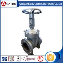 risig stem cast steel gate valve