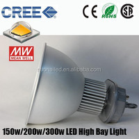 2015 Newest CREEXTE Meanwell HLG driver 150w high bay LED lights 5 years warranty
