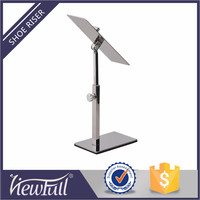 wholesale stainless steel discount shoe display stands for retailier