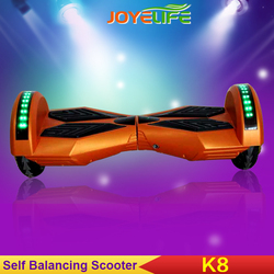 Bluetooth Speaker Remote Control Key and Carry Bag All Included 2 Wheel Self Balance 8 Inch Electric Scooters manufacturer