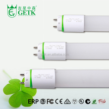 Innovation design 120lm/w Milky Cover t8 single end dlc ul approved price led tube light t8
