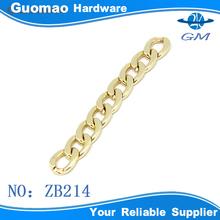 de alta calidad de oro de metal cadenas para los bolsos