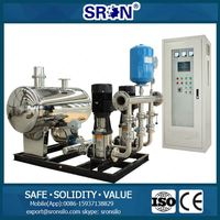 Energy Saving Frequency Conversion Water Supply Equipment for Water Supply Project