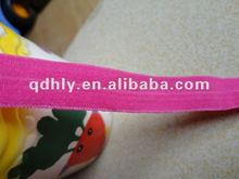 colorful matte fold over elastic tape
