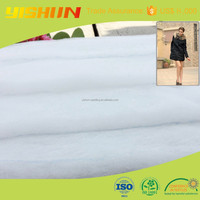 Environmental protection polyester material for filling Jackets