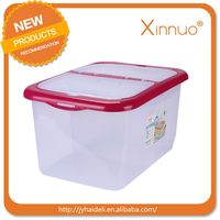 household plastic rice container with wheel wholesale rice box new design rice storage container