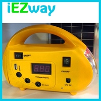 Hot !!! 2015 New product South Africa mini portable Solar power generator