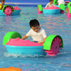 Inject HDPE inflatable electric paddle boat with motor