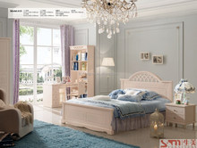 home furniture russia style white color teenager used furniture best sell