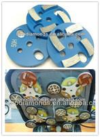3inches/75mm 75mm metal bond diamond grinding pads