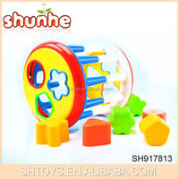 Mulifunction baby educational toys Roller educatinal block for baby