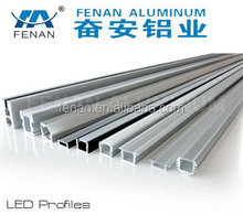 Excellent Effects Aluminium Channel for LED Strips with Cover for LED Display