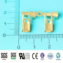 4.8mm(187)electrical tinned brass flag terminal, terminal connector,Female Flag Terminal/Terminal Crimping/Battery Terminal Clip