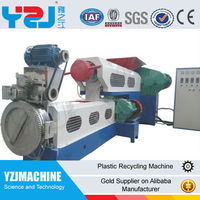 Waste PP PE Plastic recycling machine plastic granulator