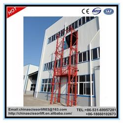 300kg outdoor lift elevators/warehouse cargo elevator