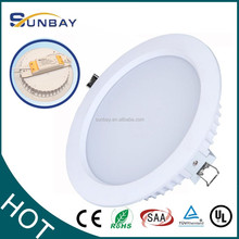 """2015 new 2.5"""" 3"""" 4"""" 6"""" 8 inch 3 years warranty 12W recessed COB LED downlight"""