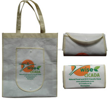 China wholesale non woven foldable bag,cheap Promotional foldable shopping bag,custom folding shopping bags