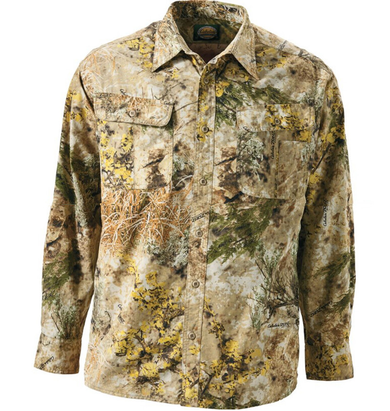 hommes plein air loisirs manches longues chemise s chage rapide chemise camouflage chasse. Black Bedroom Furniture Sets. Home Design Ideas