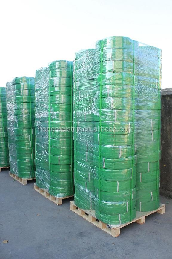 algodão verde com pet cinta de embalagem de plástico tira na índia