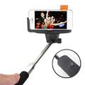 Atacado sem fio bluetooth Selfie vara para Apple / Samsung / celulares Android