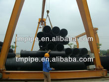 Largest size of Steel reinforced spirally wound PE drainage pipe