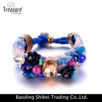 Brass Ring Bracelet Magnetic Balance Oriental Jewelry Box BL06316
