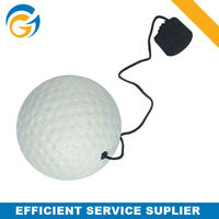 Golf Shaped Keychain Paintball Pu Balls