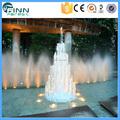 Guangzhou fábrica de aço inoxidável musical água fontes internas