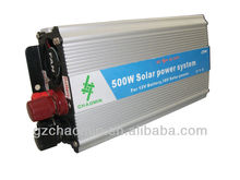Hot&Decent!! dc12v/24v to ac220v/110v 500W solar inverter frequency inverter