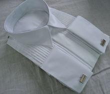 2015 new make wedding shirt french cuffs high quality formal shirt man shirt