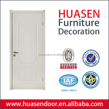 Latest indian style interior door design with cheap hollow core