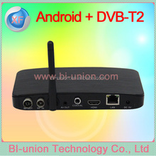 android TV Box + DVB -T2 MPEG-4 T2
