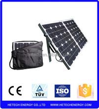 Import folding solar from china 140w folding solar panel