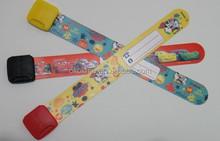 Hot silicone slap bracelet ruler ,silicone folding ruler for student