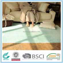 textile microfiber shaggy silk large area polyester rug