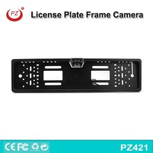 Waterproof Black Car License Plate Frame Rear View Backup Camera For EU