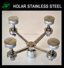 stainless steel glass spider construction material